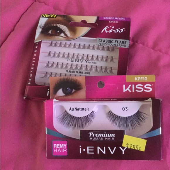593a4b10672 iEnvy Makeup   Kiss Lashes Remy Strips And Individuals   Poshmark